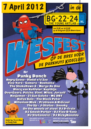 Poster WesFest 2012